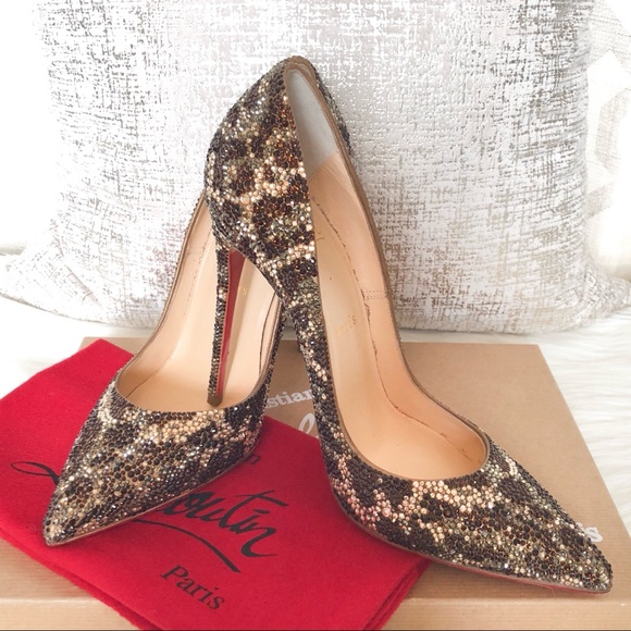 christian louboutin pigalle strass pumps